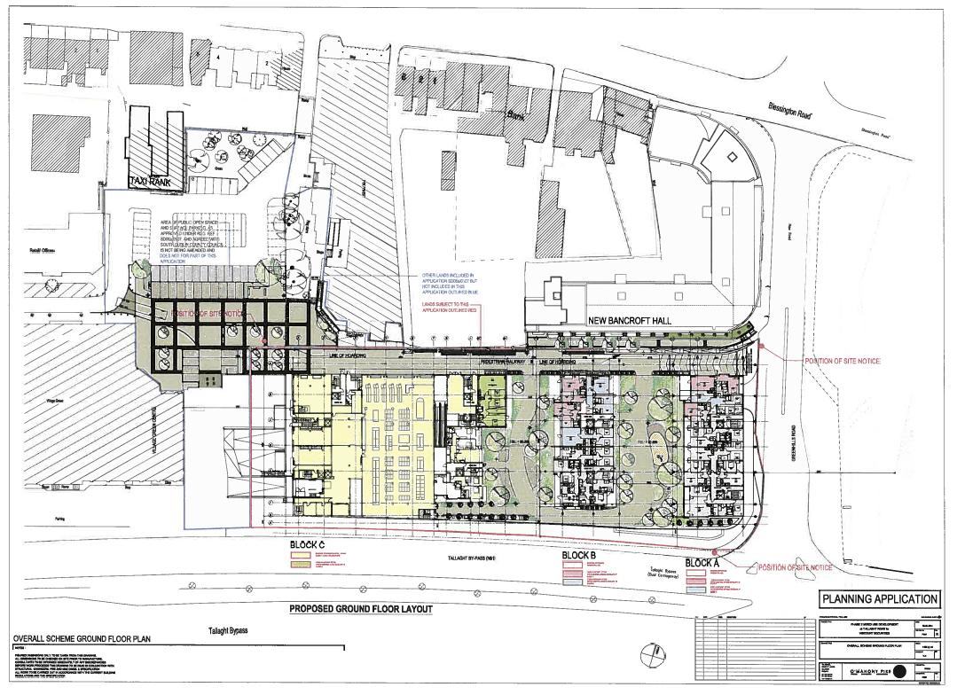 New Bancroft Map, Tallaght