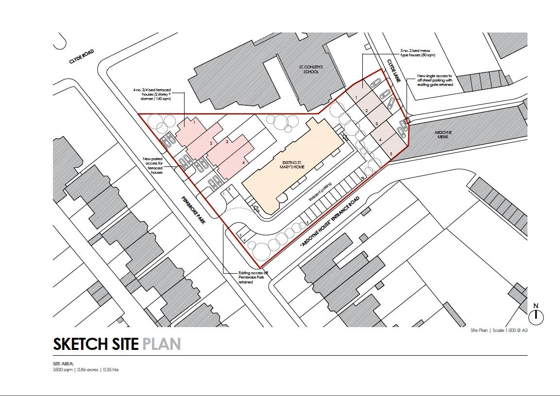 St Mary's Pembroke Park Brochure development dublin